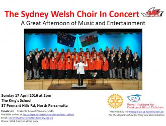 Sydney Welsh Choir concert