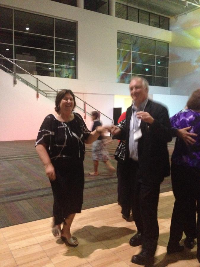 Joy and Malcolm on Dance floor